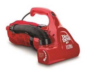Dirt Devil Hand Vacuum Cleaner Ultra Corded Bagged M08230RED