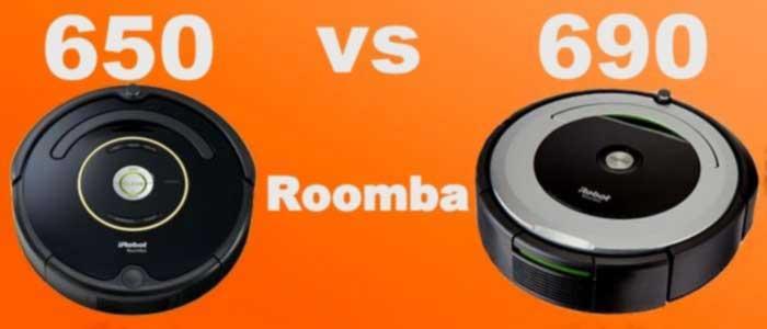 Roomba 650 vs 690 Vacuum