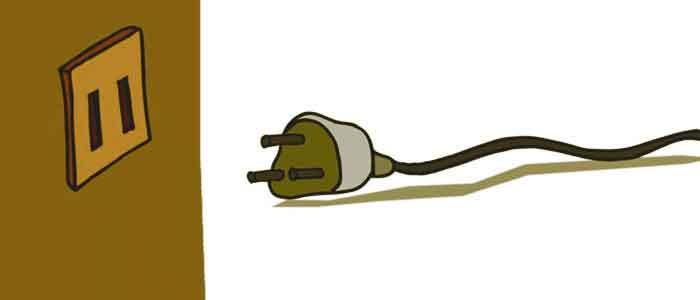 Unplug your Shark vacuum