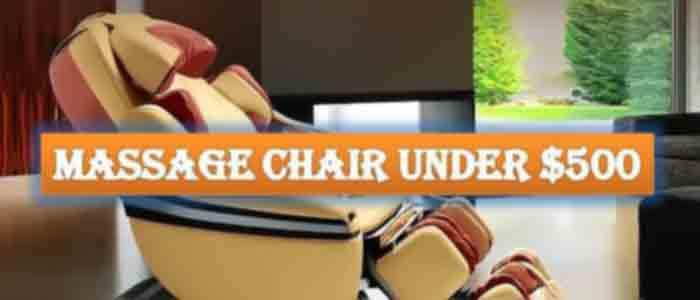 massage chair under 500 FI