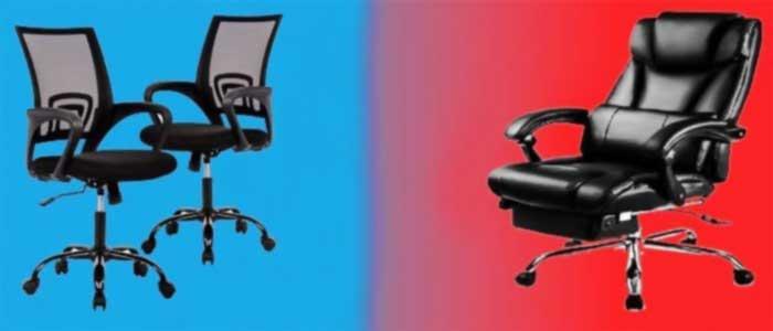 MESH VS LEATHER Chair Comparison