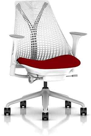 Herman Miller Sayl Chair, Crepe Licorice